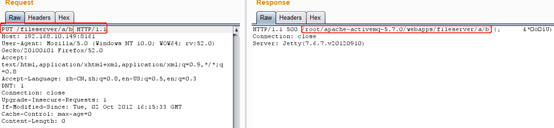 Apache ActiveMQ任意檔案寫入漏洞(CVE-2016-3088)復現