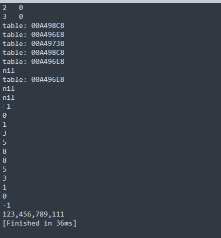熱更新語言--lua學習筆記