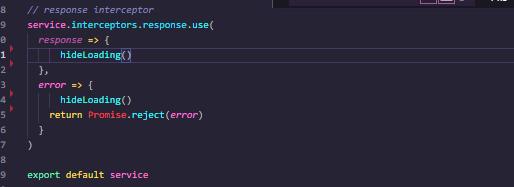 vue-element-admin 全域性loading載入等待