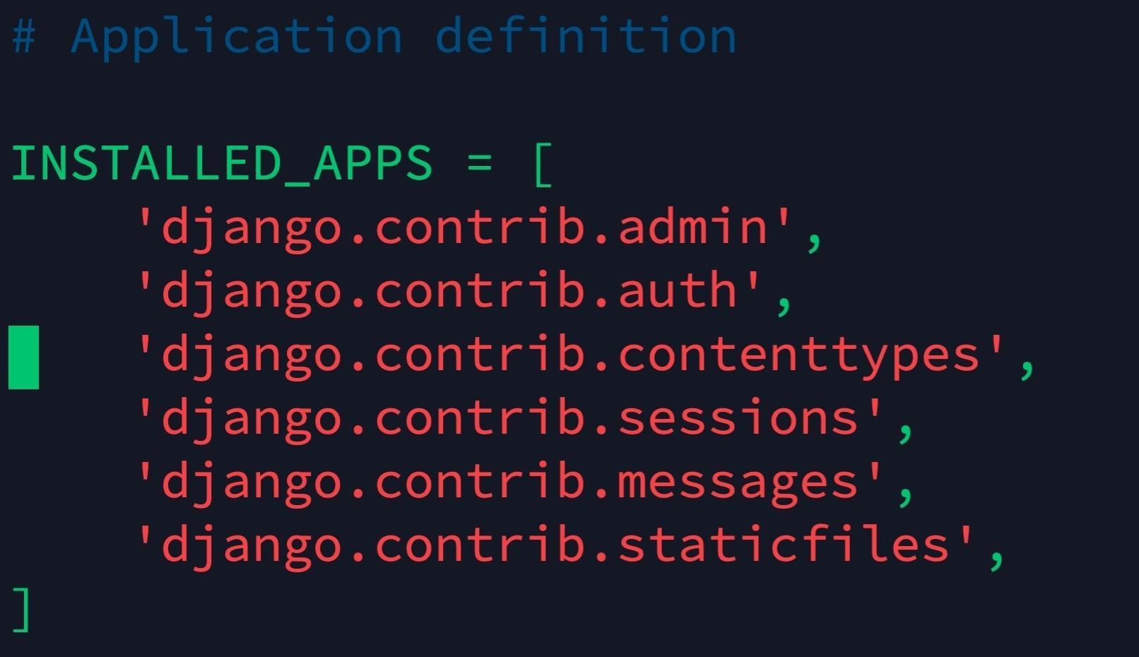 Django基礎教程之工程搭建