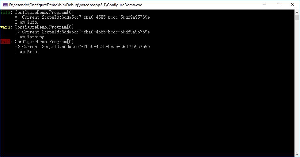 重新整理 .net core 實踐篇—————日誌系統之作用域[十七]