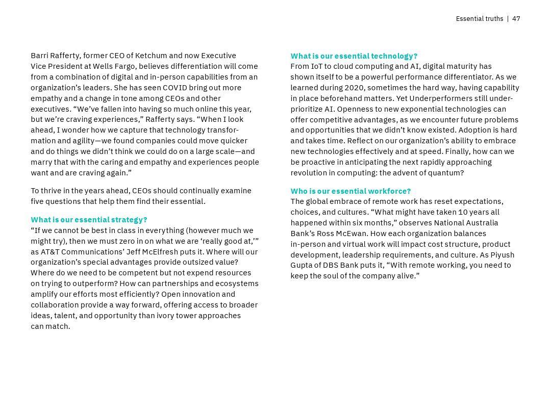 IBM:2021年CEO報告