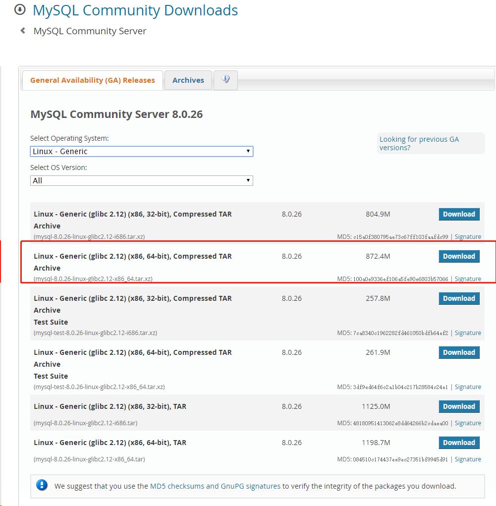 MySQL 8.x 新版本特性趕緊學!!Linux 伺服器上安裝 MySQL 8.x