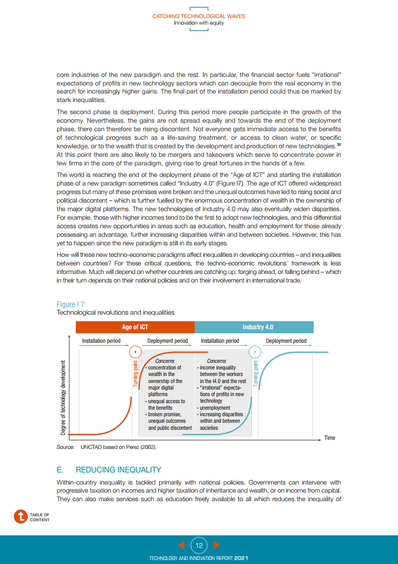 聯合國貿發會議:2021年技術與創新報告(196頁)