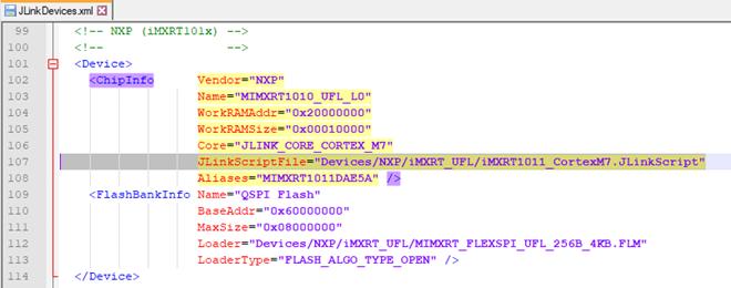 痞子衡嵌入式:超級下載演算法(RT-UFL)開發筆記番外(1) - JLinkScript妙用