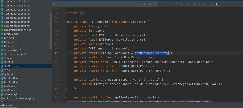 Java安全之ysoserial-JRMP模組分析(一)