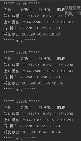 實時獲取股票資料,免費!——Python爬蟲Sina Stock實戰