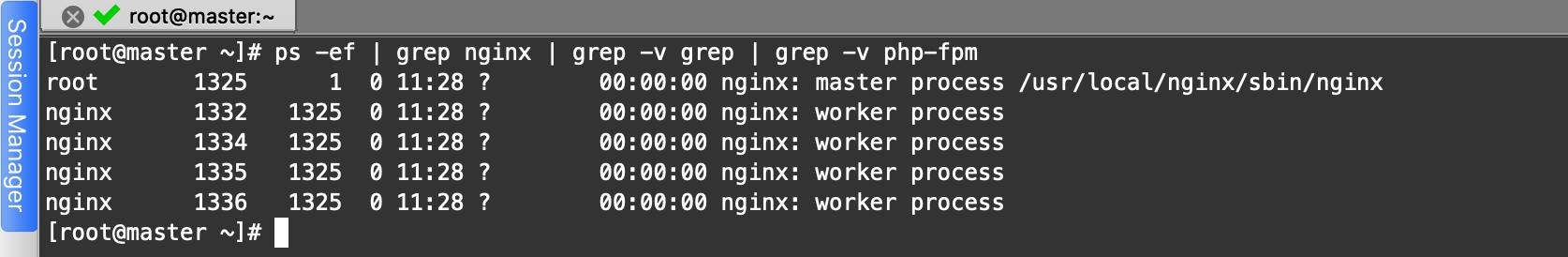 Nginx的程式管理與過載原理