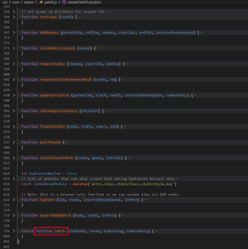 Vue.js原始碼解析-Vue初始化流程之動態建立DOM