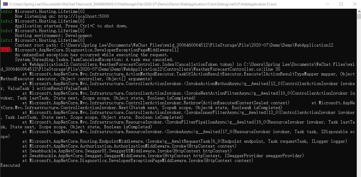 在C#中使用 CancellationToken 處理非同步任務