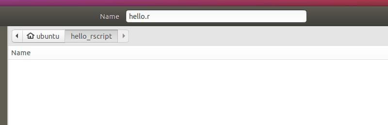 RStudio 儲存檔案