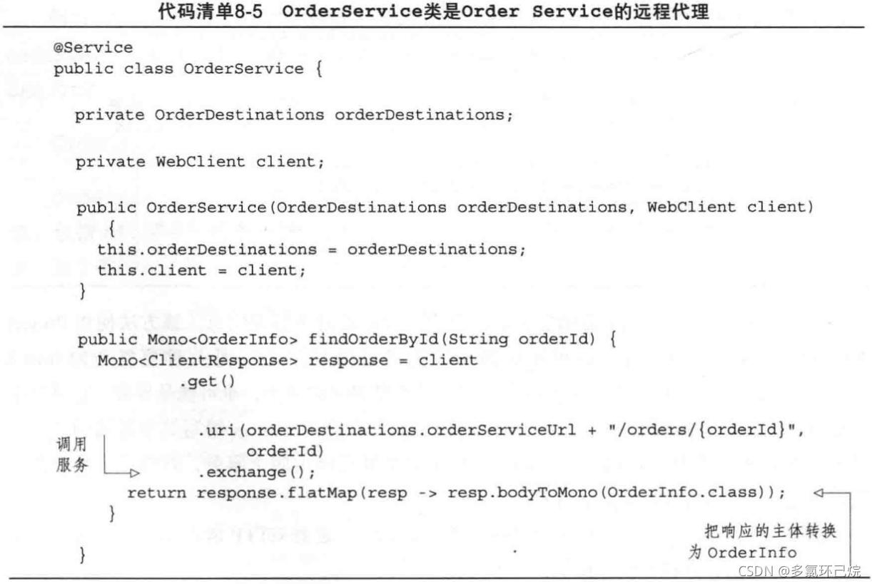 OrderService類
