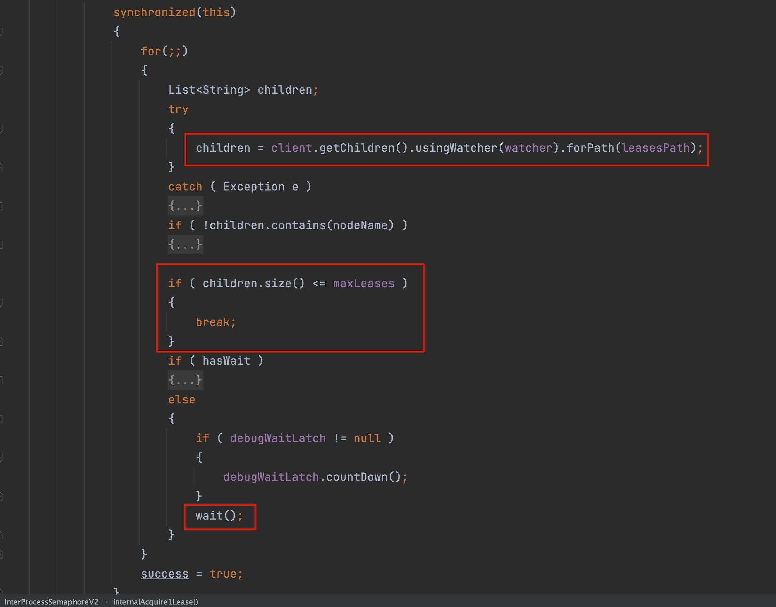 ZooKeeper 分散式鎖 Curator 原始碼 04:分散式訊號量和互斥鎖