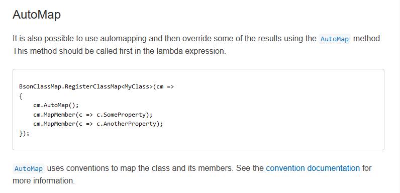 C#基於Mongo的官方驅動手擼一個Super簡易版MongoDB-ORM框架