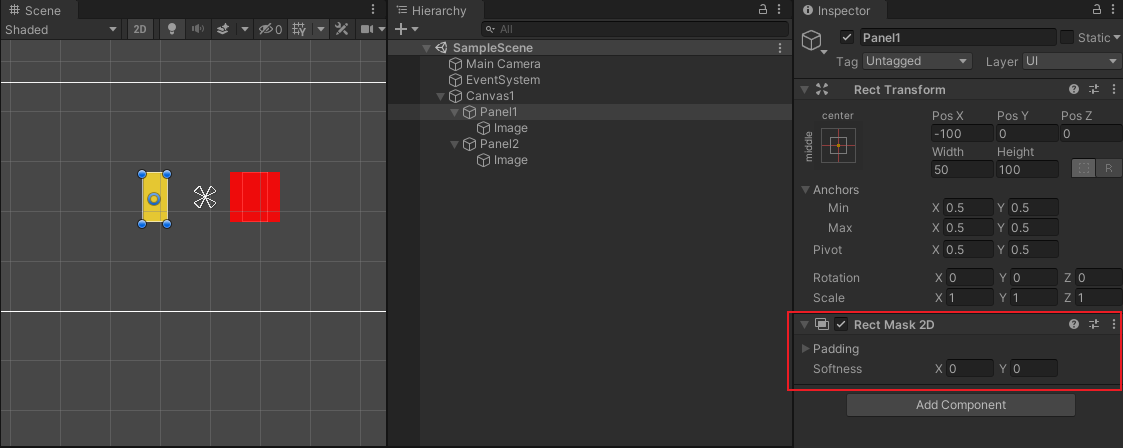 Unity遮罩之Mask、RectMask2D與Sprite Mask適用場景分析