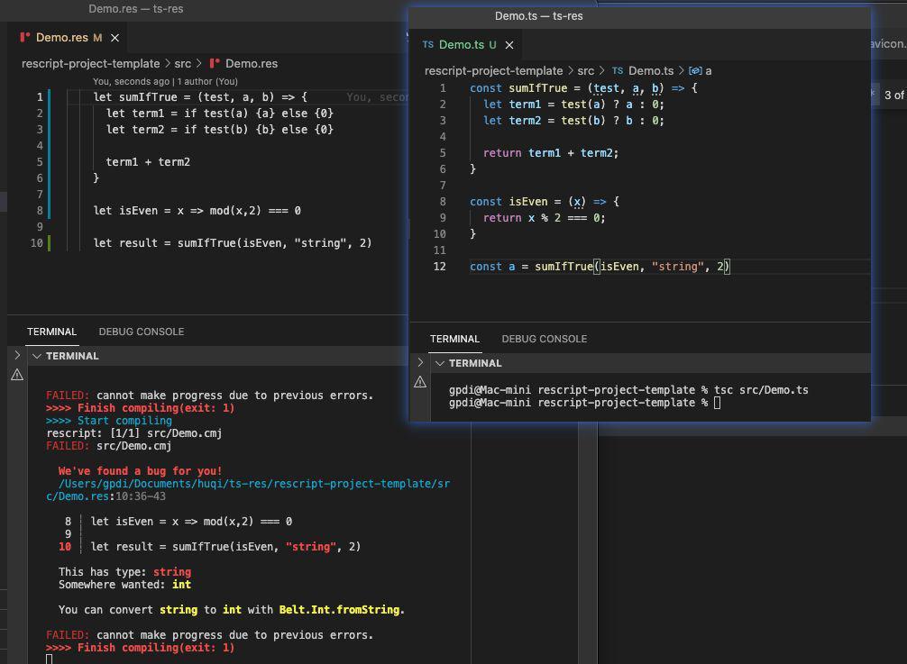 "ReScript 與 TypeScript,誰是前端圈的""當紅辣子雞"""