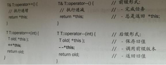 C++知識點大彙總