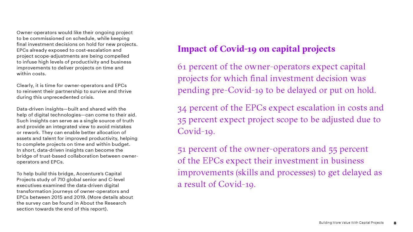 埃森哲:通過基本建設專案創造更多價值