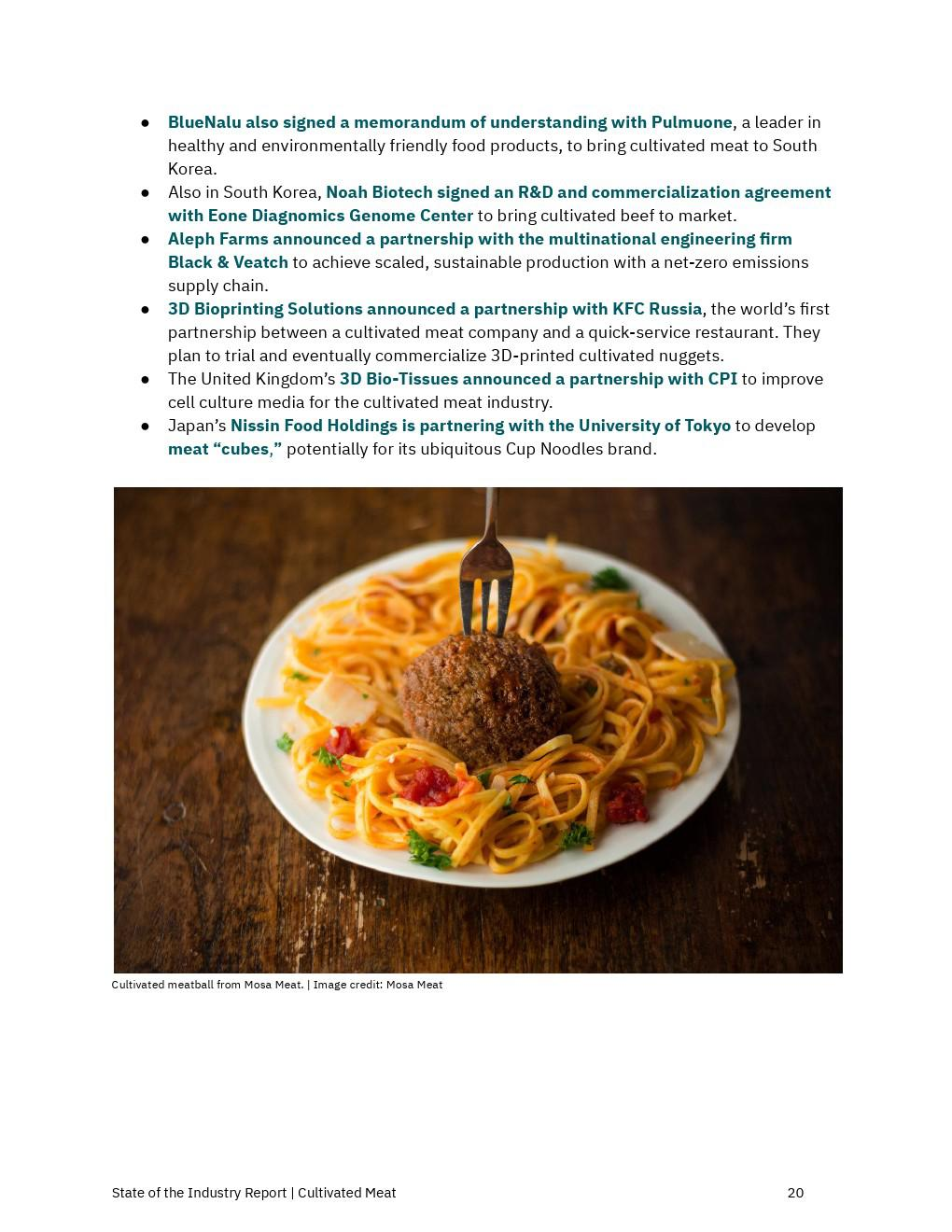The Good Food Institute:2020年人造肉行業報告