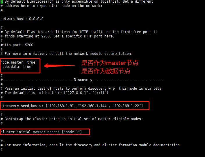 Elasticsearch(ES)叢集的搭建