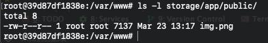 Laravel在Docker環境下訪問storage靜態資源404問題解決