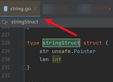 GO 中 string 的實現原理
