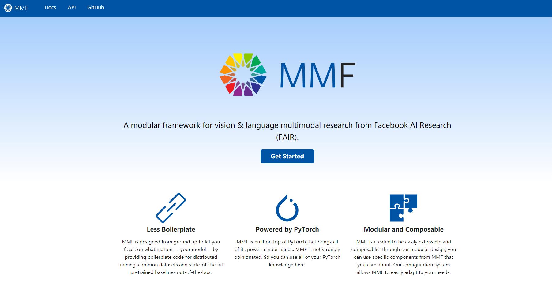 MMF的初步介紹:一個規範化的視覺-語言多模態任務框架