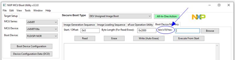 痞子衡嵌入式:MCUBootUtility v3.3釋出,可配合SBL專案使用