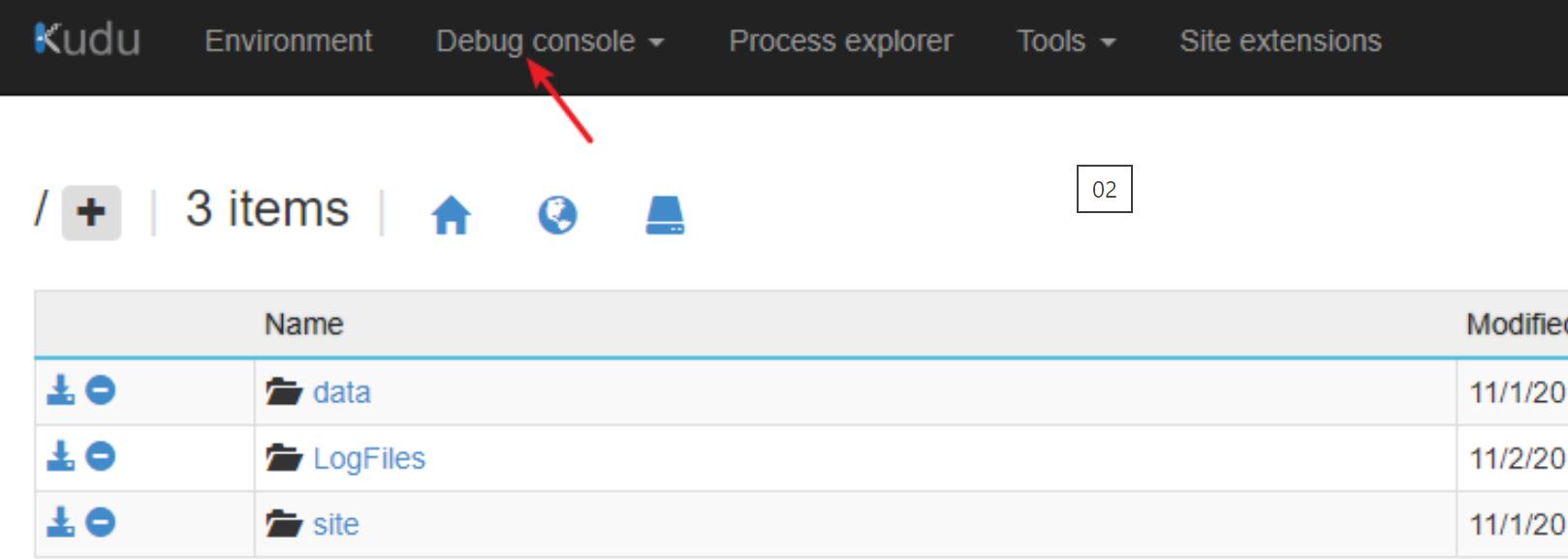 【Azure 應用服務】App Service服務無法啟動,開啟Kudu站點,App Service Editor 頁面均丟擲:The service is unavailable