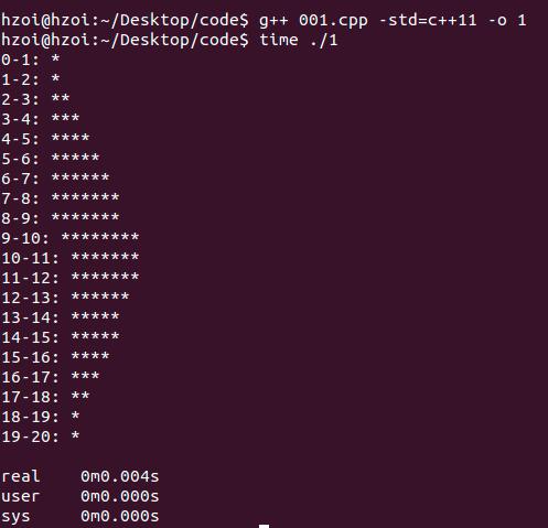 C++11 隨機數生成器