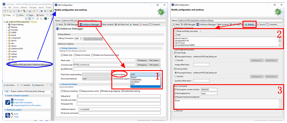 痞子衡嵌入式:MCUXpresso IDE下線上除錯時使用不同復位策略的現象總結