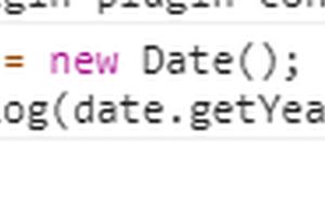 JavaScript getYear()