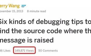 Jerry帶您瞭解Restful ABAP Programming模型系列之三:雲端ABAP應用除錯