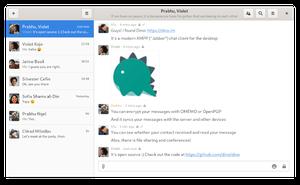 Dino:一個有著現代外觀的開源 XMPP 客戶端
