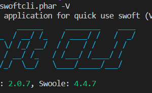 Swoftcli: 釋出 v0.1.5 版本