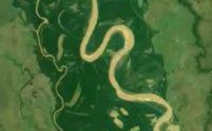 【遊戲設計圖形學】在地圖上生成蜿蜒河流的兩種方法
