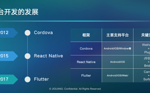 Flutter 跨平臺框架應用實戰-2019極光開發者大會
