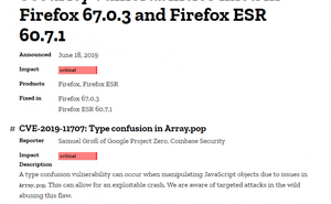 Firefox 0day 漏洞被用於攻擊 Coinbase 僱員