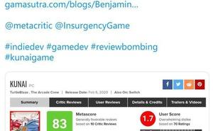 《酷派忍者》開發者推特求助  遊戲在M站遭受無辜差評