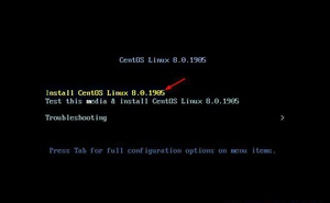 CentOS 8 安裝圖解