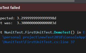 .net持續整合測試篇之Nunit that斷言