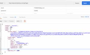 在 Laravel 中 Jwt 的使用 與 基礎 API 開發的搭建