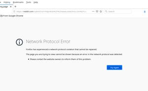 "如何修復 Mozilla Firefox 中出現的 ""Network Protocol Error"""