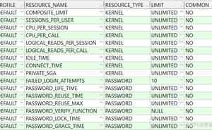 Oracle EBS 資料庫密碼複雜度設定