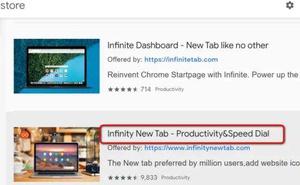 一個能極大提高生產率的Chrome新建標籤頁擴充套件
