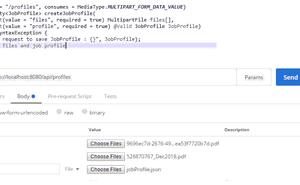 使用Spring Boot在請求正文中上傳多個檔案,並使用Postman進行測試