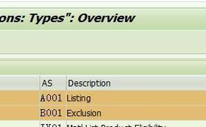 SAP SD 基礎知識之物料列表與物料排除