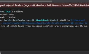 .netcore持續整合測試篇之Xunit結合netcore記憶體伺服器傳送post請求