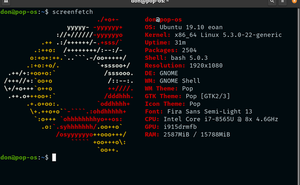 使用 Bash 工具截圖 Linux 系統配置