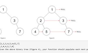 刷題系列 - 在二叉樹中,為每個節點關聯其右相鄰節點